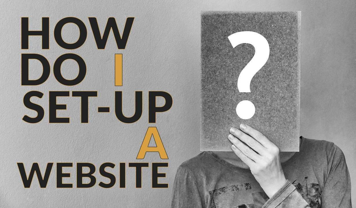 HOW TO SETUP A WEBSITE (3 min read)